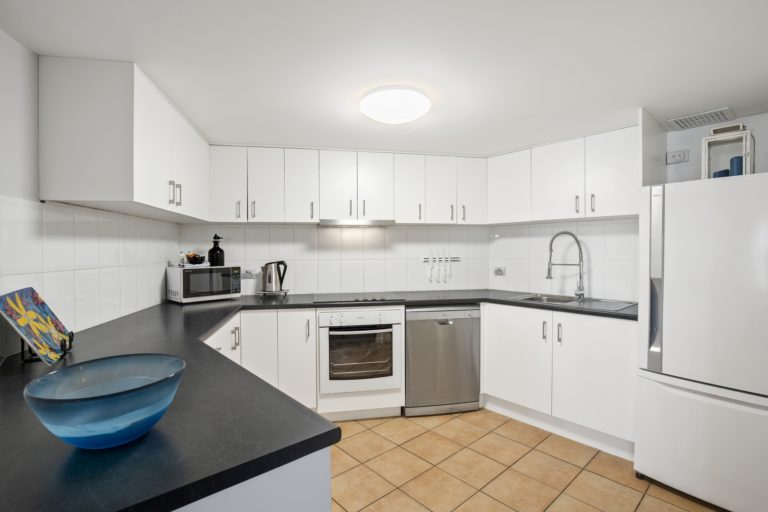 One & Two Bedroom Deluxe - Kitchen